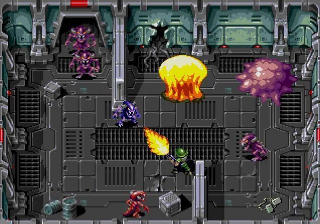 Xeno Crisis Nuevo Juego Independiente Para Sega Genesis Y Dreamcast